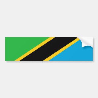 Tanzania country flag nation symbol bumper sticker