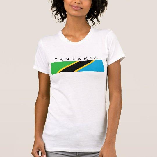 Tanzania country flag nation symbol T-Shirt