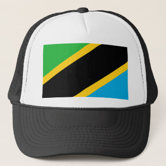 Tanzania country flag nation symbol trucker hat