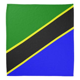 Tanzania Flag Bandannas