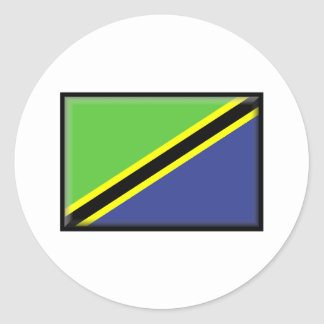 Tanzania Flag Classic Round Sticker