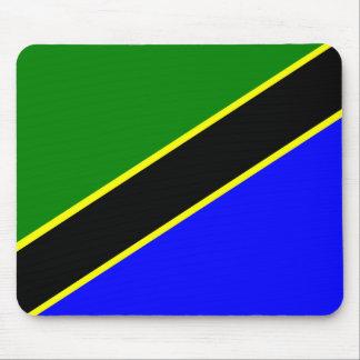 Tanzania Flag Mouse Pad