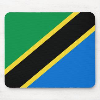 Tanzania Flag Mousepad