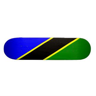 Tanzania Flag Skate Decks