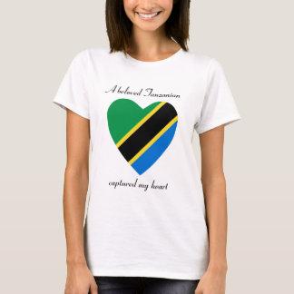 Tanzania Flag Sweetheart T-Shirt