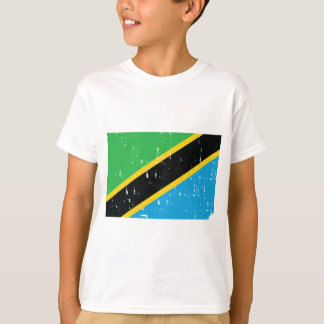 Tanzania Flag T Shirt Worn look World