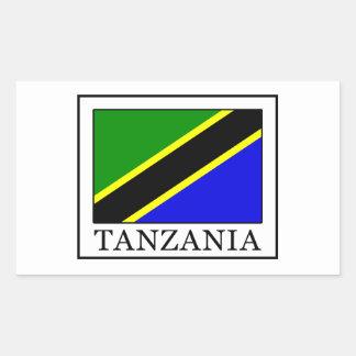 Tanzania Rectangular Sticker