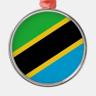 Tanzania – Tanzanian Flag Christmas Ornament