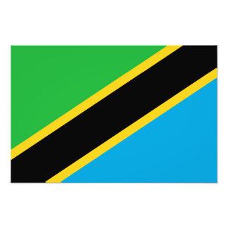 Tanzania – Tanzanian Flag Photo Art