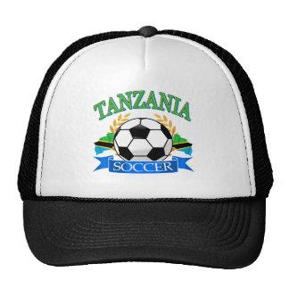 Tanzanian soccer designs cap
