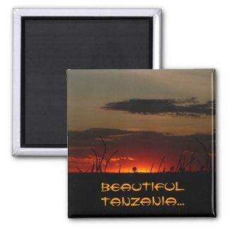 Tanzanian Sunset Magnet
