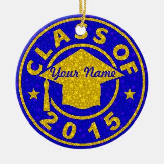 Tanzanite Class Of 2015 Graduation Ornaments