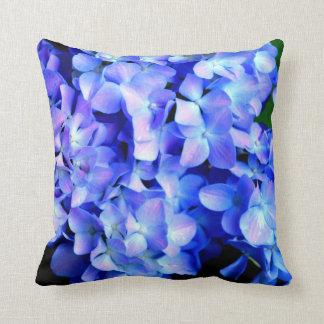 Tanzanite  Hydrangeas Cushion
