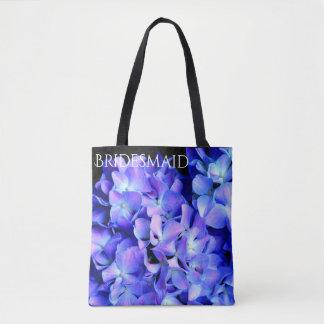 Tanzanite  Hydrangeas Tote Bag