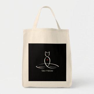 Tao Meow - Regular style text. Bags