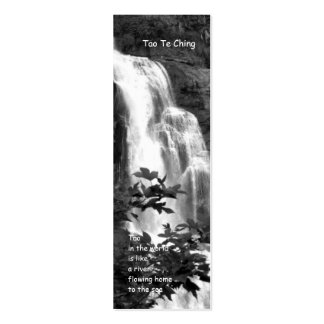 Tao Te Ching Bookmark Business Cards