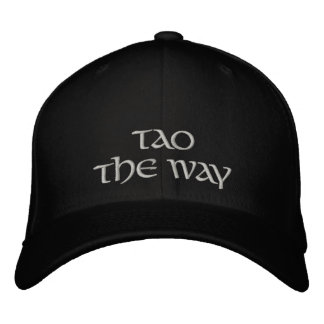 Tao-The Way Embroidered Hat