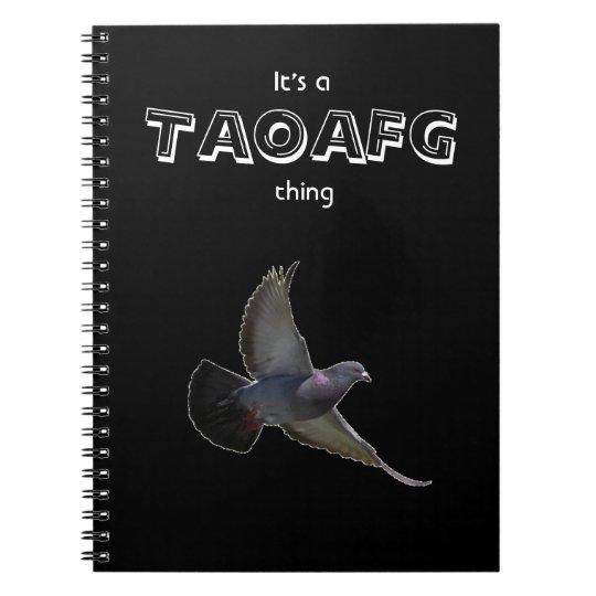 TAOAFG Pigeon Journal