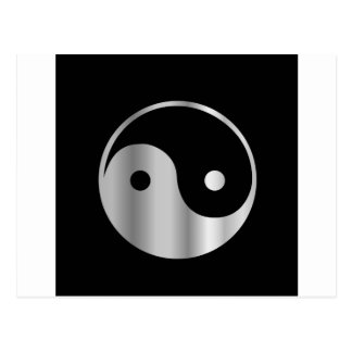 Taoism- Daoism- Ying and Yang religious icon Postcard