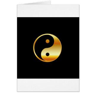 Taoism- Daoism- Ying and Yang symbol Greeting Card