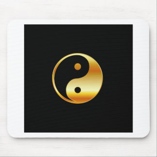 Taoism- Daoism- Ying and Yang symbol Mouse Pad