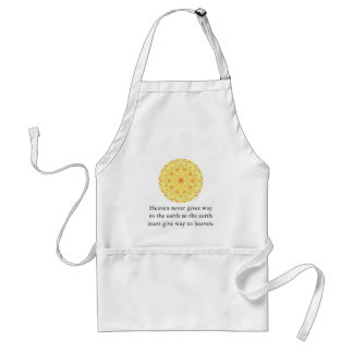Taoist Proverb about heaven and earth Aprons