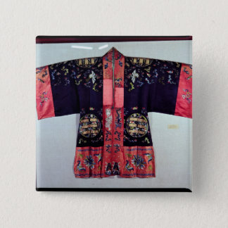 Taoist Robe With Tai Chi Yin and Yang 15 Cm Square Badge