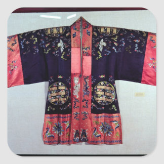 Taoist Robe With Tai Chi Yin and Yang Stickers