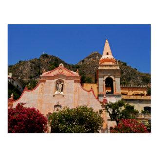 Taormina 4 postcard