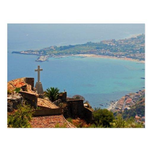 Taormina view 3 post cards