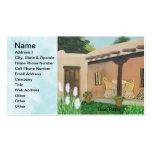 Taos Patio ~ Landscape Business Card Templates