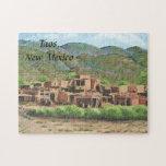 Taos Pueblo, New Mexico Puzzles