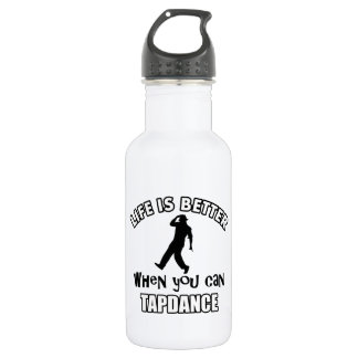 Tap dance Designs 532 Ml Water Bottle