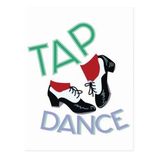 Tap Dance Postcard