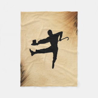 Tap Dancer Fleece Blanket