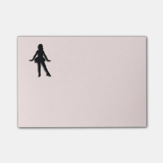 Tap Dancer Pink Post-it® Notes