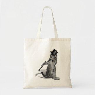 Tap Dancing Cat Budget Tote Bag