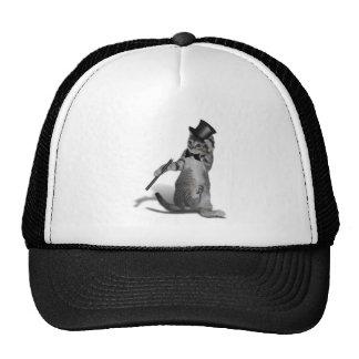 Tap Dancing Cat Mesh Hat