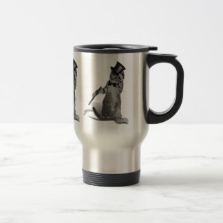 Tap Dancing Cat Travel Mug