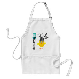 Tap Dancing Chick 5 Adult Apron