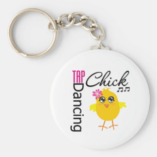 Tap Dancing Chick Keychain