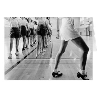 Tap Dancing Class, 1942 Card
