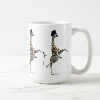 Tap Dancing Giraffe Coffee Mug