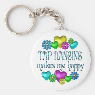 Tap Dancing Happiness Key Ring