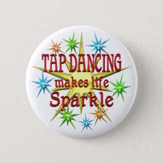 Tap Dancing Sparkles 6 Cm Round Badge