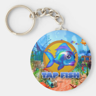 Tap Fish key chain