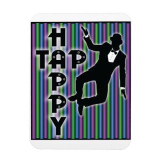 Tap Happy Magnet with Stripes Flexible Magnets