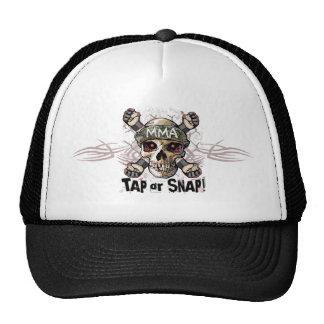 Tap or Snap MMA Skull Gear Cap