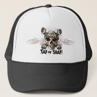 Tap or Snap MMA Skull Gear Trucker Hat