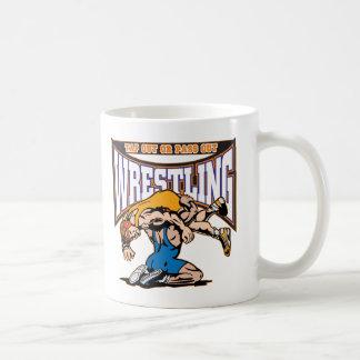 Tap Out Wrestlers Basic White Mug